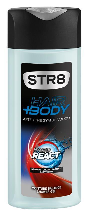 STR8 HYDRO REACT H+B SG 400 - 12 lei